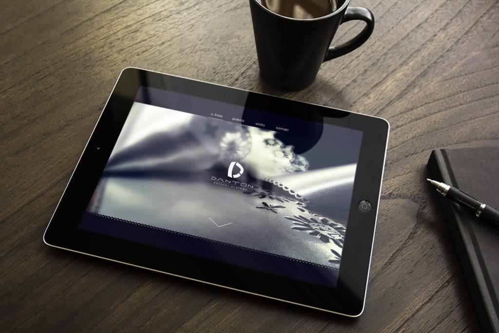 Strona Internetowa Danton