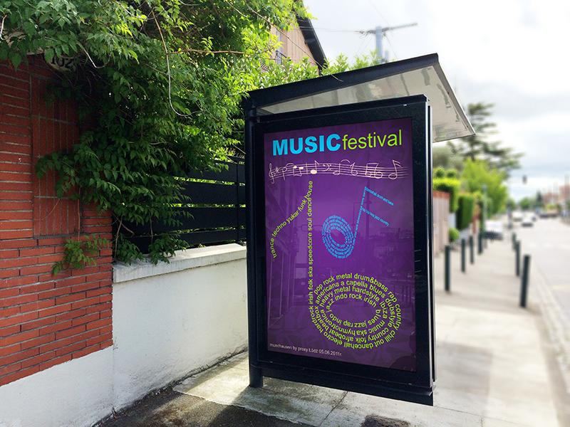 Projekty Graficzne Festiwal Muzyczny