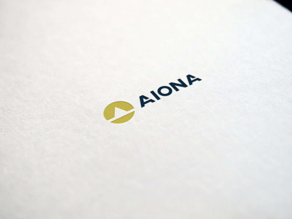 Projekt Logo Aiona